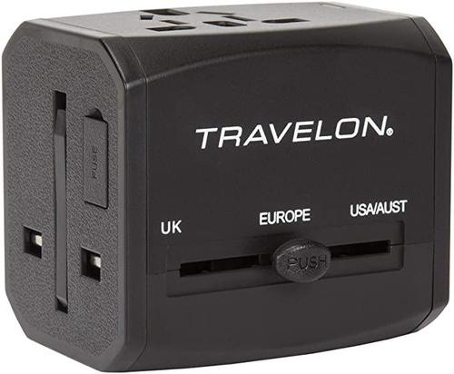 Travelon Universal Adapter with USB Ports