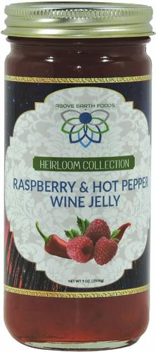 Seasoned Delicious Foods Heirloom Raspberry and Hot Pepper Wine Jelly