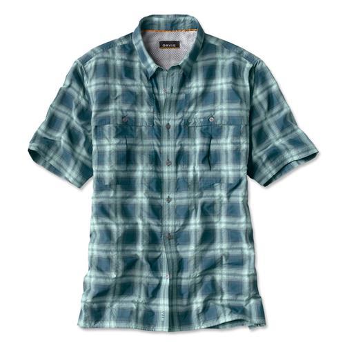 Orvis Men's Open Air Plaid Caster Short Sleeve Shirt