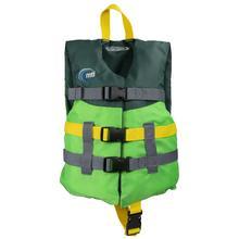 MTI Adventurewear Child Livery PFD GREEN/FOREST
