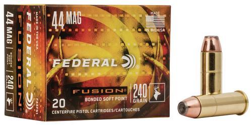 Federal Ammunition Fusion Handgun 44 Rem Magnum