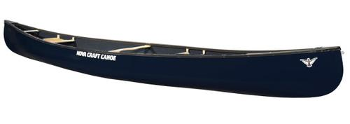 Novacraft Canoe Prospector 15 Blue Steel with Ash Gunwales Custom Listing