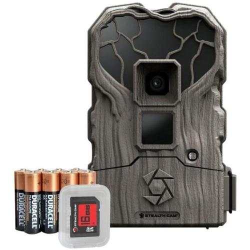 Stealth Cam 14 Megapixel No Glo Trail Camera with SD Card and Batteries
