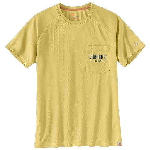 Carhartt Men's Force Birdseye Graphic Short Sleeve Tee