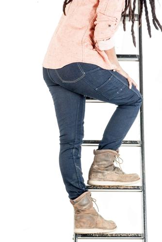 Dovetail Workwear Women's Maven Slim Power Stretch Denim Pant