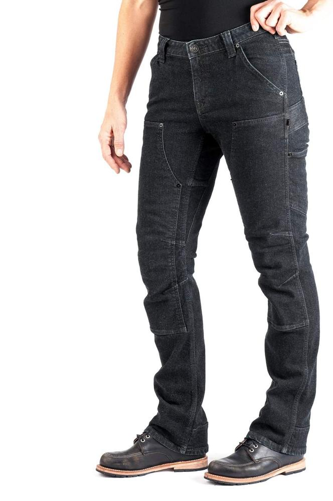 Dovetail Workwear Women's Britt Utility Pant In Cosy Denim