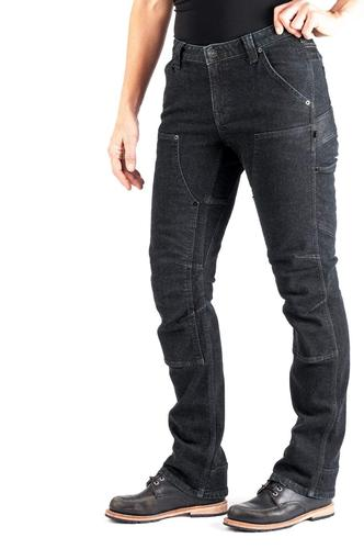 Dovetail Workwear Women's Britt Utility Pant in Cosy Denim