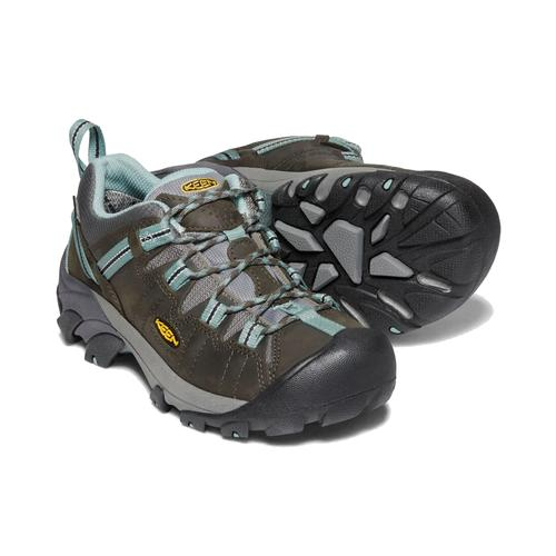 Keen Women's Targhee 2 Waterproof in Black Olive Mineral Blue
