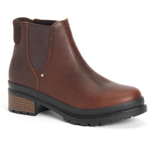 Muck Women's Liberty Chelsea Boot Brown