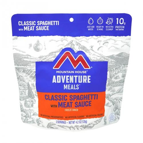 Mountain House Classic Spaghetti with Meat Sauce Freeze Dried Meal