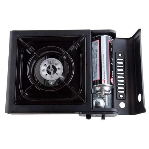 Webstaurant Choice 1 Burner Portable Butane Stove 8000 BTU with Case