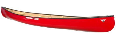 Nova Craft Canoe Prospector 15 Tuff Stuff Canoe with Aluminum Gunwales