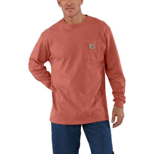 Carhartt Men's Workwear Long Sleeve Pocket Tee Tall Sizes