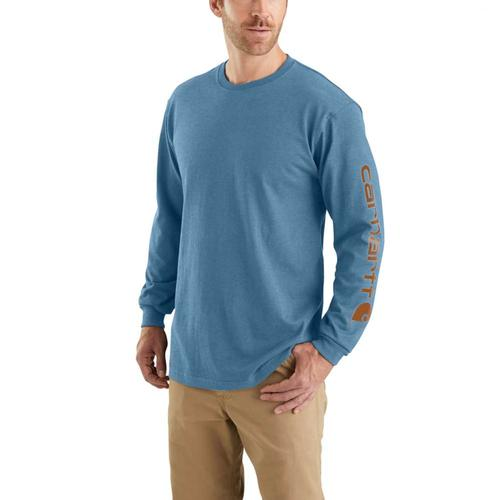 Carhartt Men's Workwear Signature Logo Long Sleeve Tee