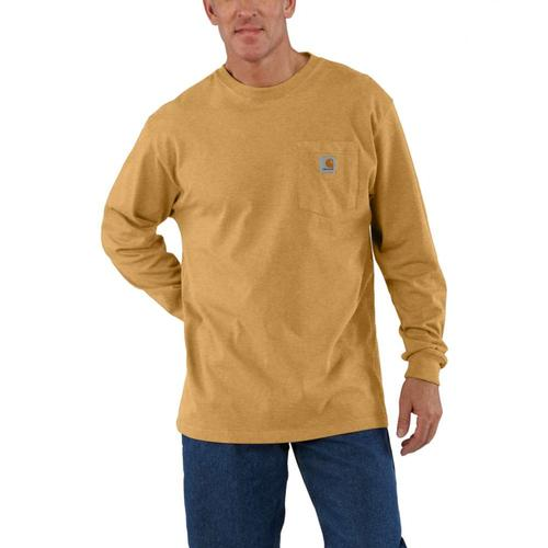 Carhartt Men's Workwear Long Sleeve Pocket Tee