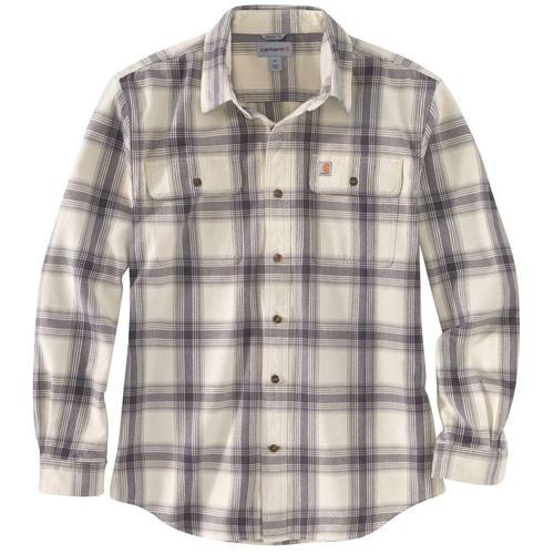 Carhartt Men's Original Fit Long Sleeve Flannel Plaid Shirt