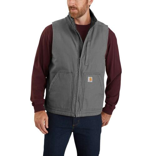 Carhartt Men's Sherpa Lined Mock Neck Vest