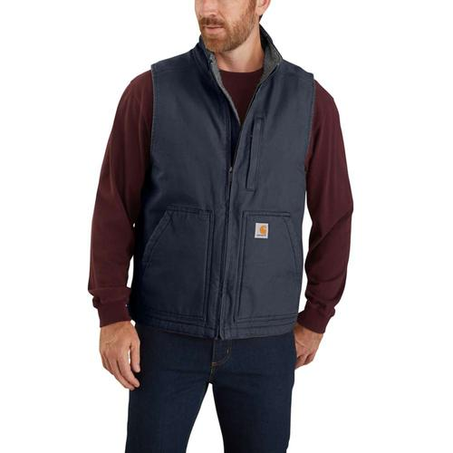 Carhartt Men's Sherpa Lined Mock Neck Vest Big and Tall Sizes