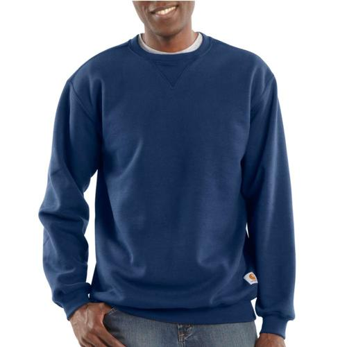 Carhartt Men's Midweight Crewneck Sweatshirt in Big Sizes