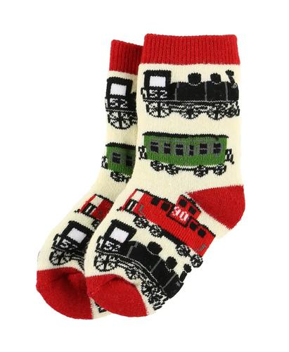 Lazy One Infant Train Socks