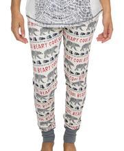 Lazy One Women's Beary Cool Pajama Leggings GREY