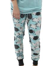 Lazy One Women's Fast Asheep Pajama Leggings BLUE