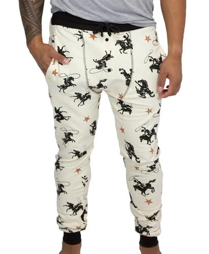 Lazy One Men's Cowboy Long Johns