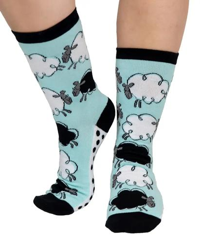 Lazy One Adult Fast Asheep Crew Socks