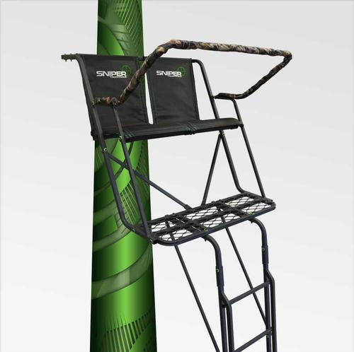 Sniper Twin Peaks Ladder Two Person Tree Stand