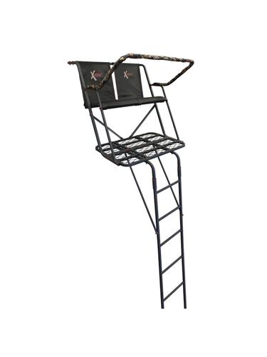 X Stand Meridian 17ft Two Person Ladder Tree Stand