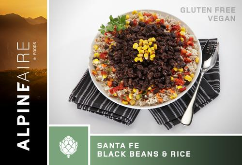 AlpineAire Foods by Katadyn Santa Fe Black Beans and Rice
