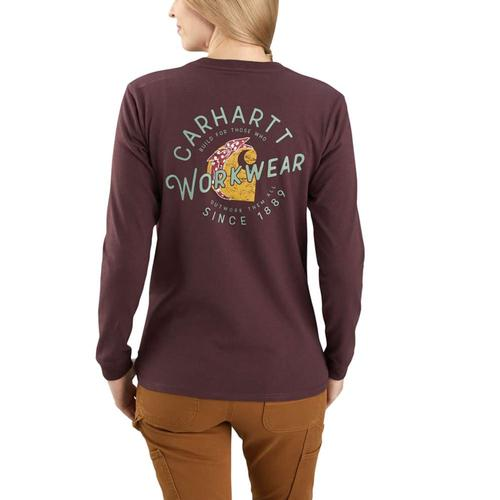 Carhartt Women's Original Fit Heavyweight Long Sleeve Rosie Graphic T