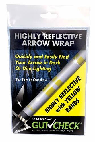 Gut Check Highly Reflective Arrow Wraps