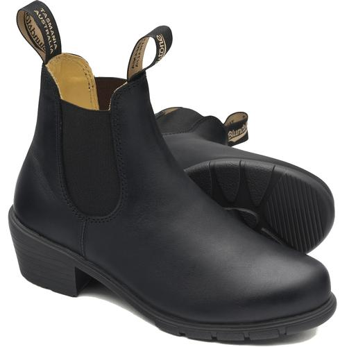 Blundstone Women's 1671 Black Leather Heeled Boot