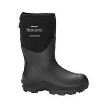 Dry Shod Men's Arctic Storm Mid Winter Chore Boot BLACK