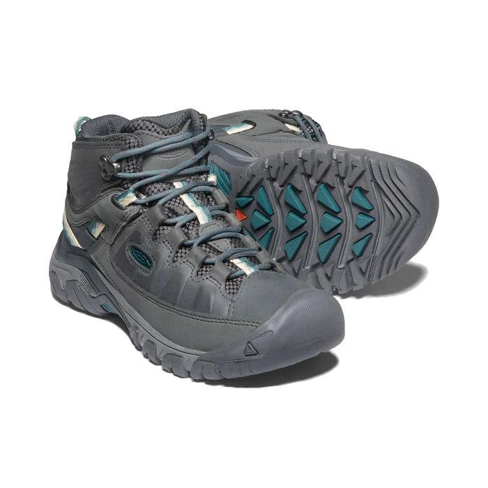 Keen Women's Targhee 3 Mid Waterproof Hiking Boot Magnet And Balsam