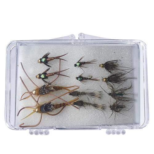 The Creative Angler Eastern Nymph 12 Fly Selection Box Set