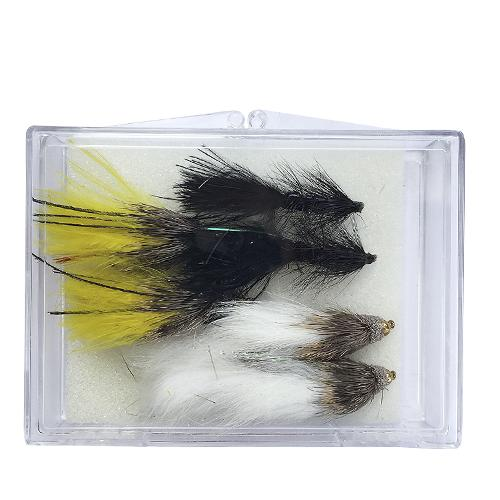 The Creative Angler Eastern Streamers 6 Fly Selection Box Set