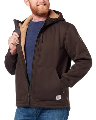 Free Country Men's Wind River Burly Canvas Softshell Jacket