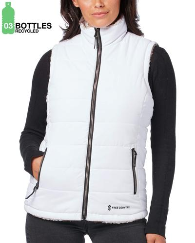 Free Country Women's FreeCycle™ Cloud Lite® Reversible Vest