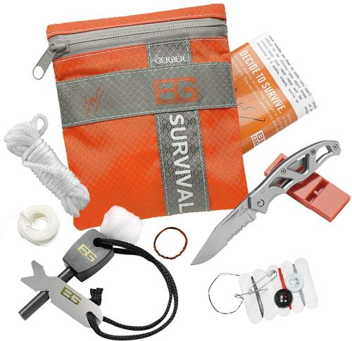 Gerber Gear Bear Grylls Basic Survival Emergency Kit