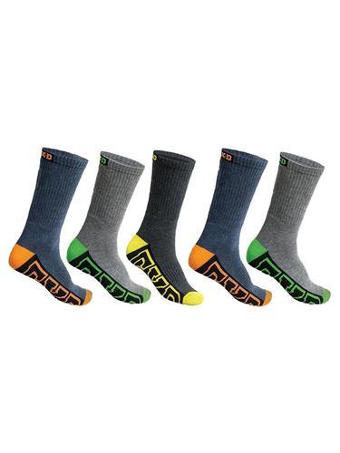 FXD Men's Crew Socks 5 Pack