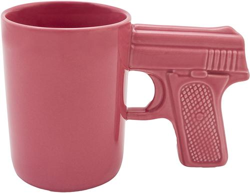 AGS Ceramic Pistol Grip Mug