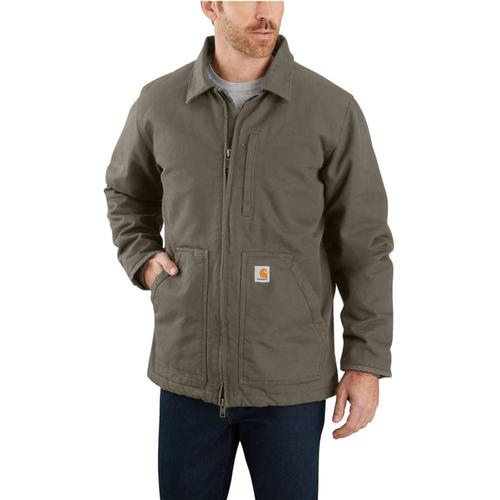 Carhartt Men's Washed Duck Sherpa Lined Coat