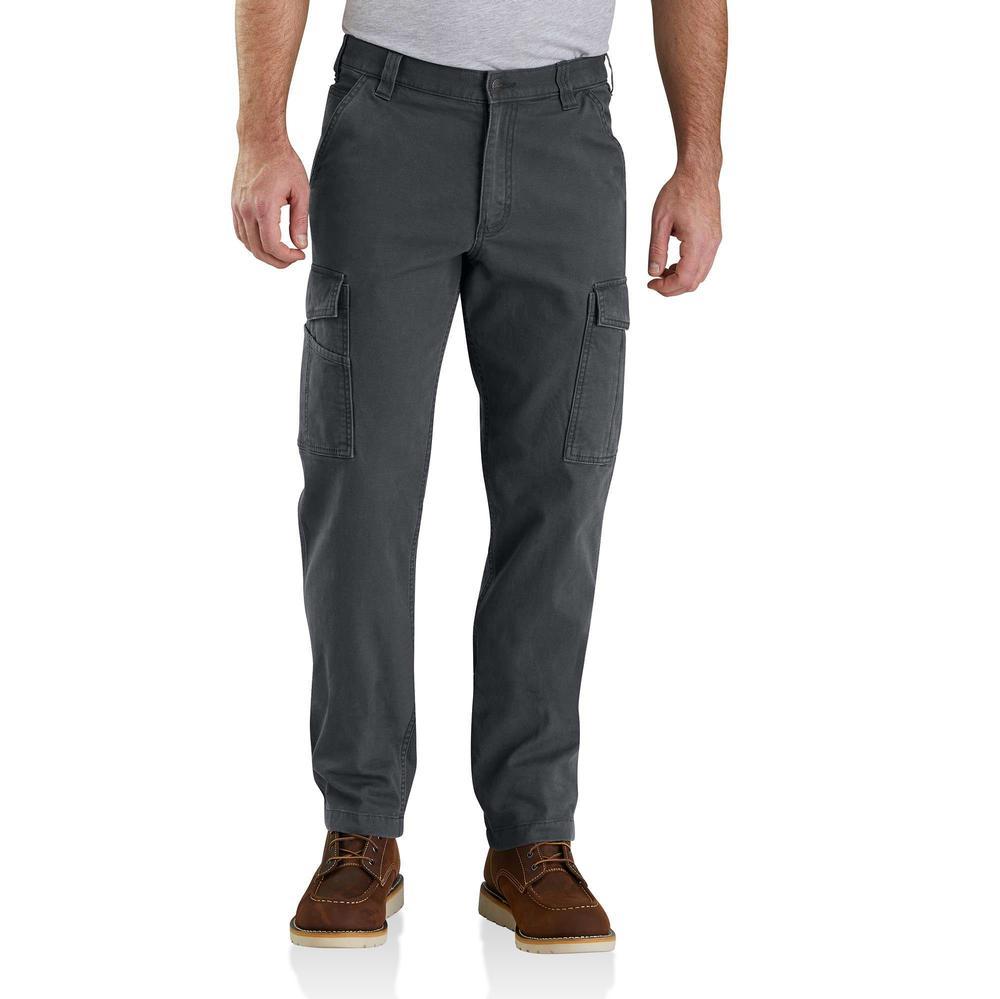 Carhartt Men's Rugged Flex Rigby Cargo Pant SHADOW