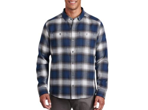 Kuhl Men's Law Flannel Long Sleeve Shirt