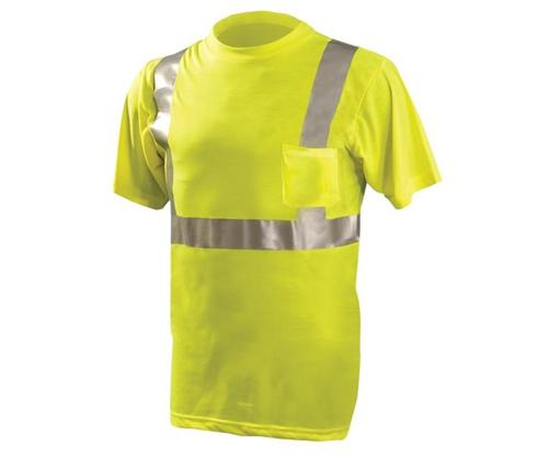 Occunomix High Visibility Classic Standard Wicking Pocket T Shirt