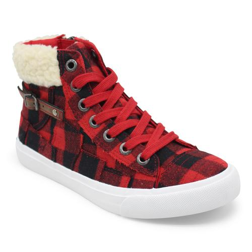 Blowfish Malibu Women's Memphis High Top Sneaker with Cuff