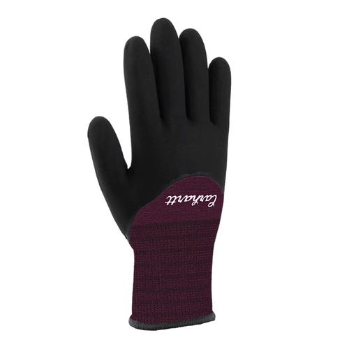 Carhartt Women's Thermal Full Coverage Nitrile Grip Gloves
