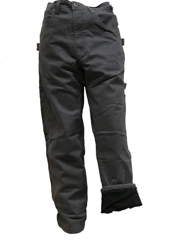 Five Brother Workwear Men's Fleece Lined Twill Dungarees